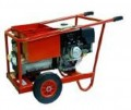 Spitfire 200DC Petrol Welder Trolley & Electric Start